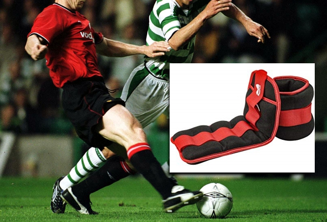FIFA to introduce handicapping to football using lead weighted ankle bracelets!