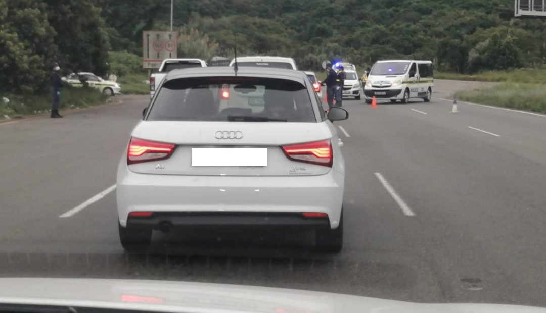 Lockdown day 1 in SA – roadblocks on the highways