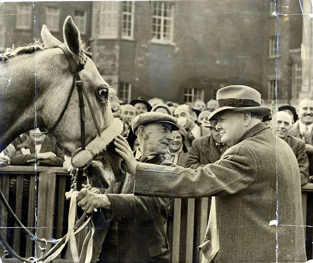 Winston Churchill and Colonist II